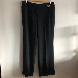 Ann Taylor loft black Kate pants